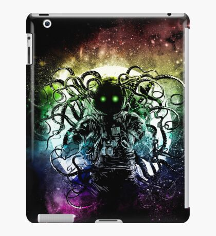 Terror from deep space iPad Case/Skin