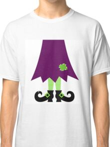 Vector - Stylized retro Witch legs Classic T-Shirt