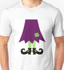 Vector - Stylized retro Witch legs T-Shirt