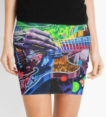 Trey Anastasio 4 - Design 1 Mini Skirt