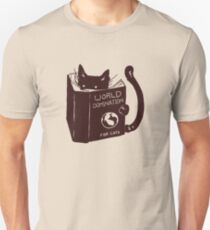 World Domination For Cats Unisex T-Shirt