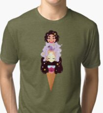 Crystal Gems Ice Creme Special  Tri-blend T-Shirt