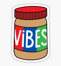 Peanut Butter Vibes Sticker