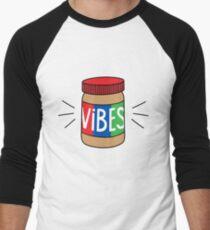 Peanut Butter Vibes Men's Baseball ¾ T-Shirt