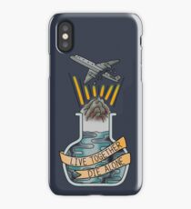 live together, die alone iPhone Case