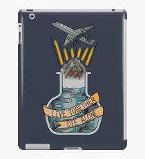 live together, die alone iPad Case/Skin