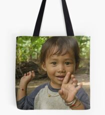 Village Girls 5 Tote Bag