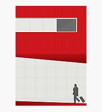 Funky Little Red Building Photographic Print