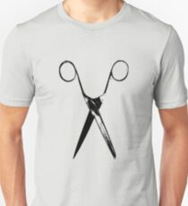 Scissors - black T-Shirt