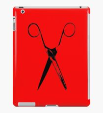 Scissors - black iPad Case/Skin