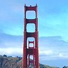 Golden Gate Bridge by tabusoro