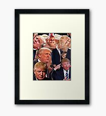 There Is No Safe Space From Reality Framed Print