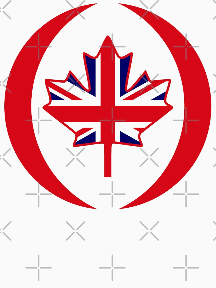 British Canadian Multinational Patriot Flag Series by carbonfibreme