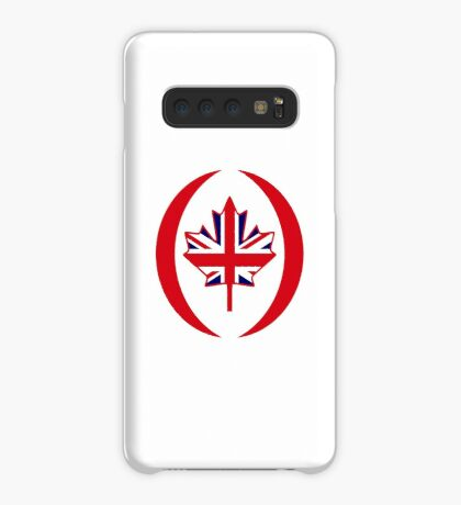 British Canadian Multinational Patriot Flag Series Case/Skin for Samsung Galaxy