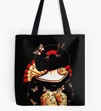 Geisha Girl TShirt Tote Bag