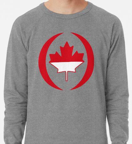 Indonesian Canadian Multinational Patriot Flag Series Lightweight Sweatshirt