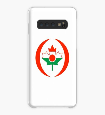 Niger Canadian Multinational Patriot Flag Series Case/Skin for Samsung Galaxy