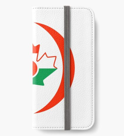 Niger Canadian Multinational Patriot Flag Series iPhone Wallet