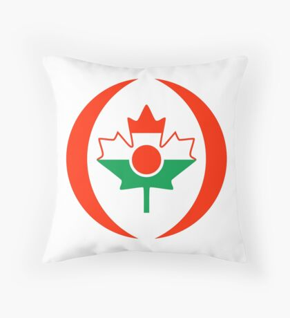 Niger Canadian Multinational Patriot Flag Series Throw Pillow