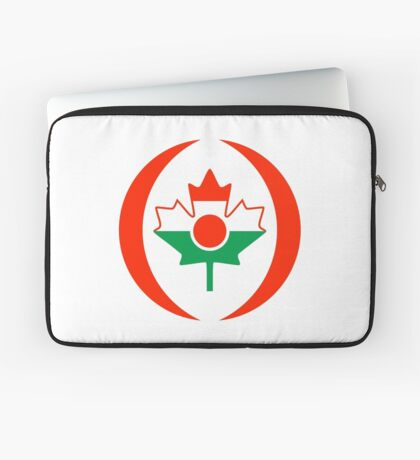 Niger Canadian Multinational Patriot Flag Series Laptop Sleeve