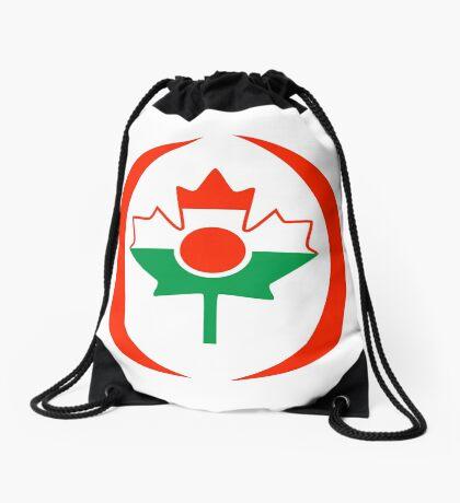 Niger Canadian Multinational Patriot Flag Series Drawstring Bag
