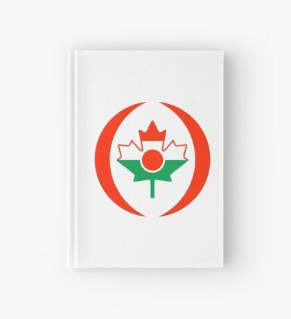 Niger Canadian Multinational Patriot Flag Series Hardcover Journal
