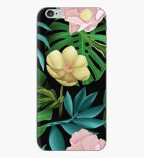 Tropic Flowers iPhone Case