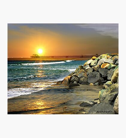 Loved by the Sun (Art & Poetry) Photographic Print