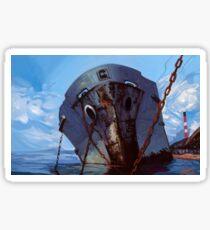 Hometown Ghost Ships Sticker