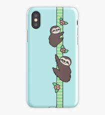 Three Toed Sloths iPhone Case