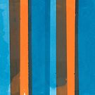 Blue and Orange Stripe by Michael Wertz