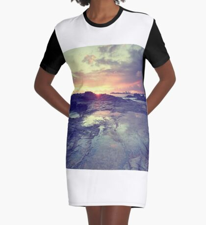 Sunlight is painting Graphic T-Shirt Dress