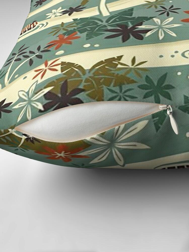 Alternate view of Jungle Cruise Throw Pillow