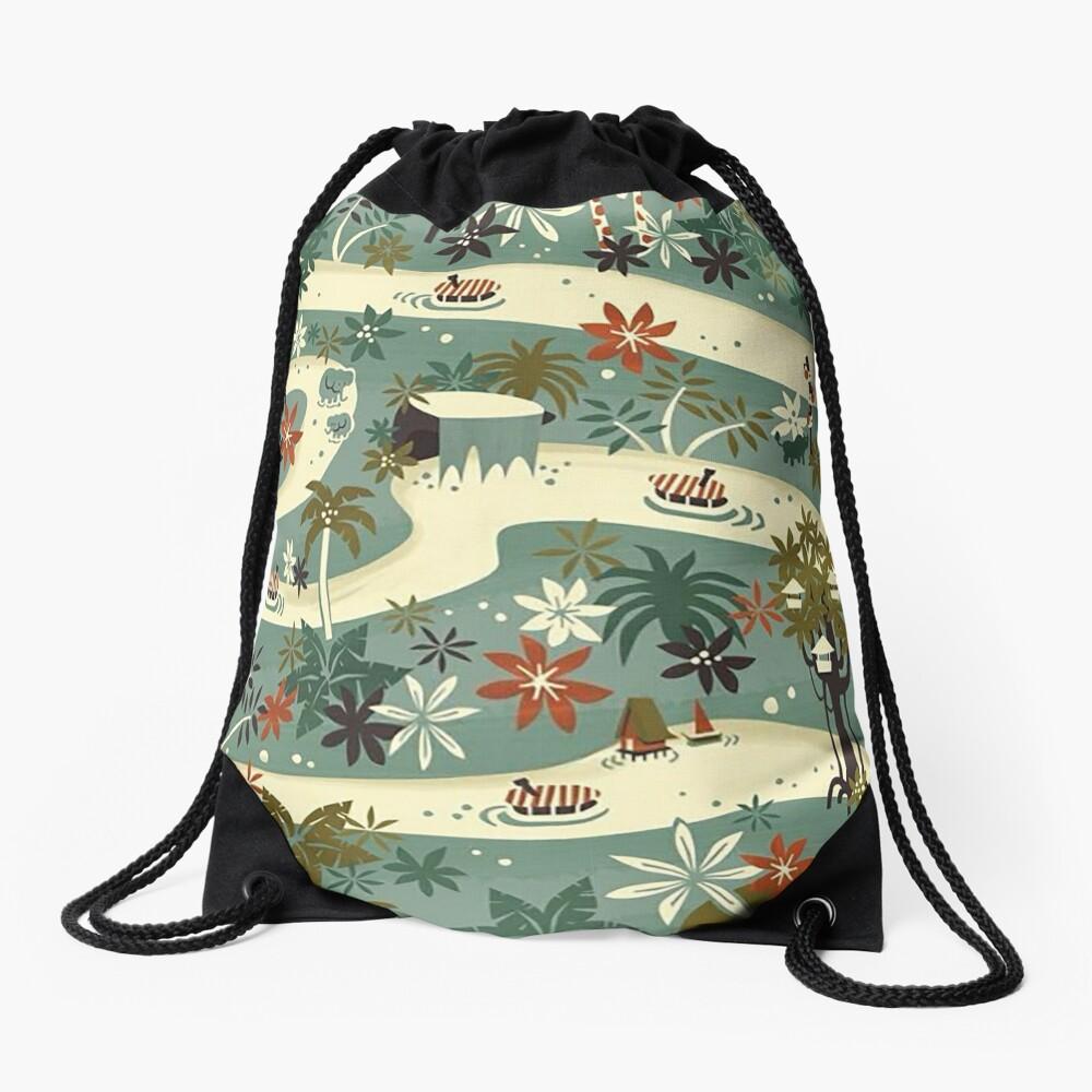 Jungle Cruise Drawstring Bag