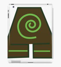 Earth Bender Symbol (Colour) iPad Case/Skin