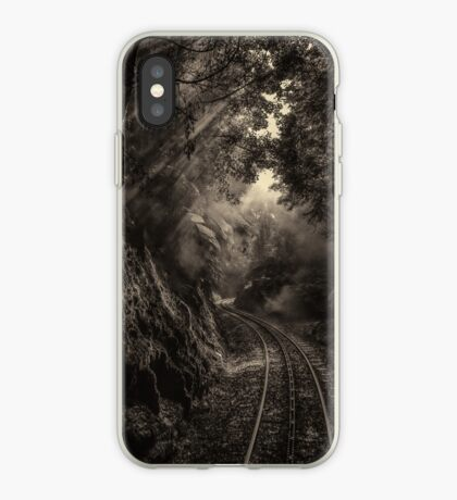 Steam and rainforest iPhone Case