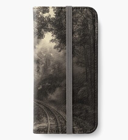 Steam and rainforest iPhone Wallet
