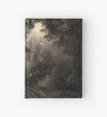 Steam and rainforest Hardcover Journal