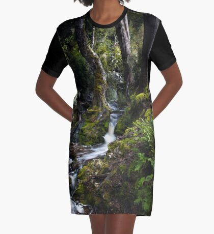 The silence of contemplation Graphic T-Shirt Dress