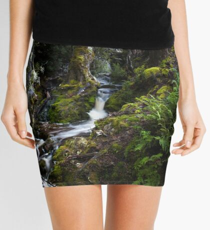 The silence of contemplation Mini Skirt