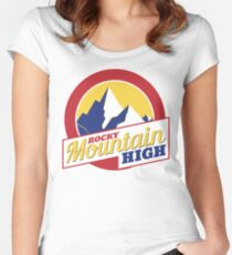 Rocky Mountain High Colorado Women's Fitted Scoop T-Shirt