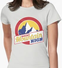 Rocky Mountain High Colorado Womens Fitted T-Shirt