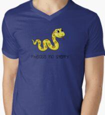 Pwease kein steppy T-Shirt mit V-Ausschnitt