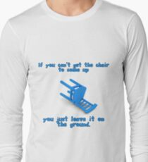 alantutorial - the blue chair Long Sleeve T-Shirt