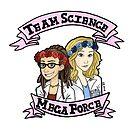 team science mega force by Diana Benitez