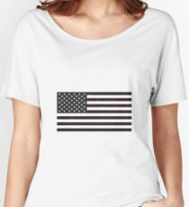 USA Flag Women's Relaxed Fit T-Shirt