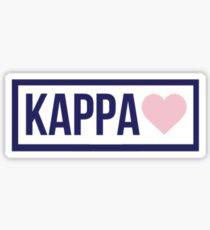 Brandy Melville Kappa Sticker