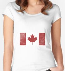 Canada Fitted Scoop T-Shirt