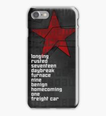 conditioning iPhone Case/Skin