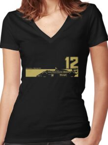 Lotus 98T Women's Fitted V-Neck T-Shirt